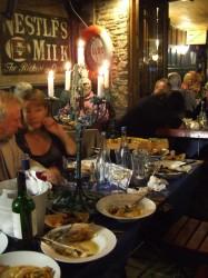 Alf's Regatta Suppers A FEW TABLES LEFT....QUICK!!