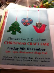 Blackawton & Dittisham Christmas Craft Fair