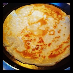 Flippin' Pancakes for Shrove Tuesday