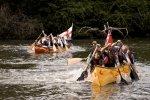 Voyager Canoe Race, Tuckenhay