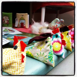 Easter Chicken & Rabbit Beanbag Workshop