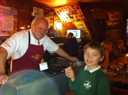 Free Sausage Sizzle with Charles Baughan of Westaways Sausages