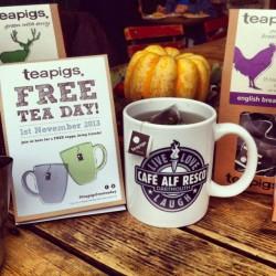 Free Tea Friday - Friday 1st November