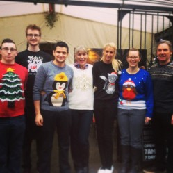 Christmas Jumper Day at Alf's