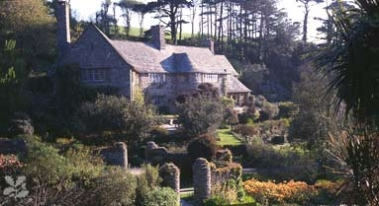 Hill-rolling at Coleton Fishacre