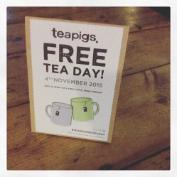 Free Tea Day