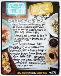 Breakfast Week at Alf's