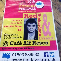 Live Comedy at Alf's with Red Richardson